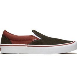 Vans Shoes Slip On Pro Heavy Twill/Henna