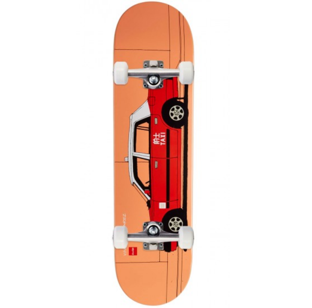 "Chocolate Skateboards Alvarez World Taxi Complete 8.0"""