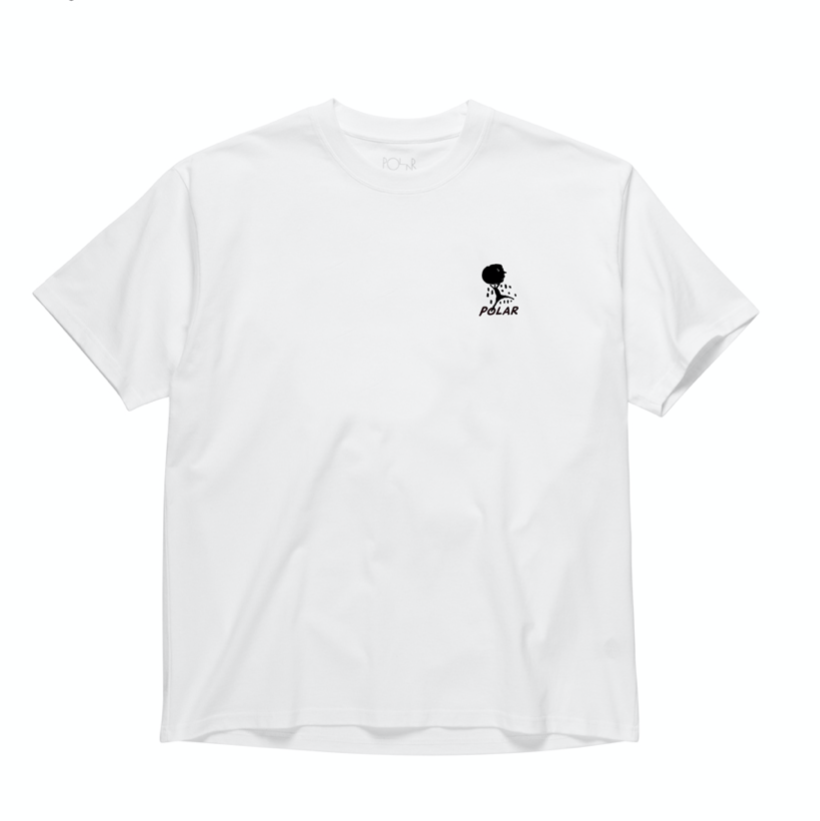 Polar Skate Co. Weight Tee White
