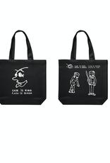Polar Skate Co. Cash Is Queen Tote Bag Black