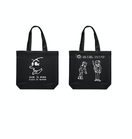 Polar Skate Co. Cash Is Queen Tote Bag Black