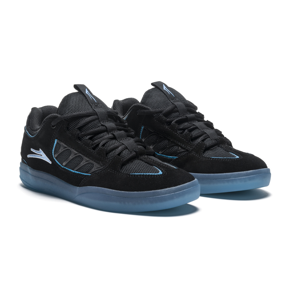 Lakai Carroll Black/Blue Suede