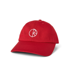 Polar Skate Co. Stroke Logo Cap Red 57.5cm
