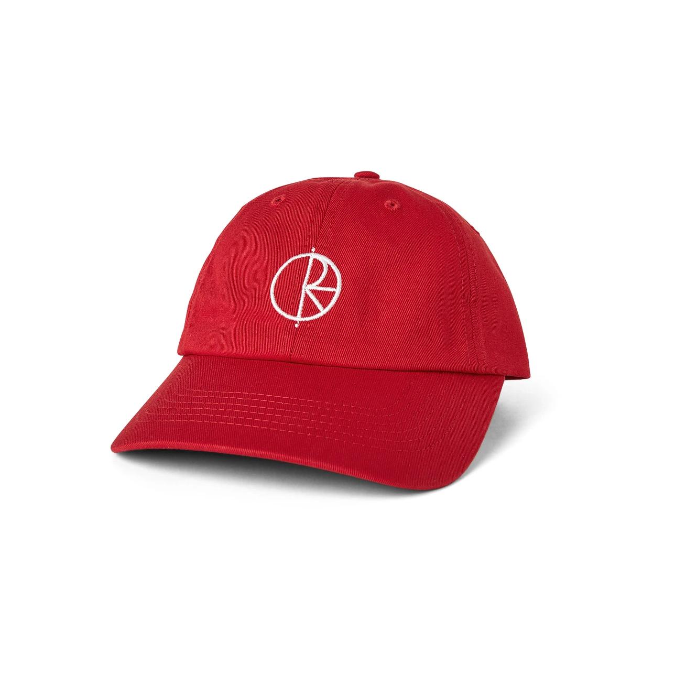 Polar Skate Co. Stroke Logo Cap Red 57.5cm