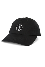 Polar Skate Co. Stroke Logo Cap Black 57.6cm