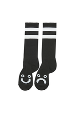 Polar Skate Co. Happy Sad Socks Long Black 43/46