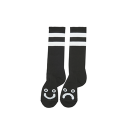 Polar Skate Co. Happy Sad Socks Long Black 43/46