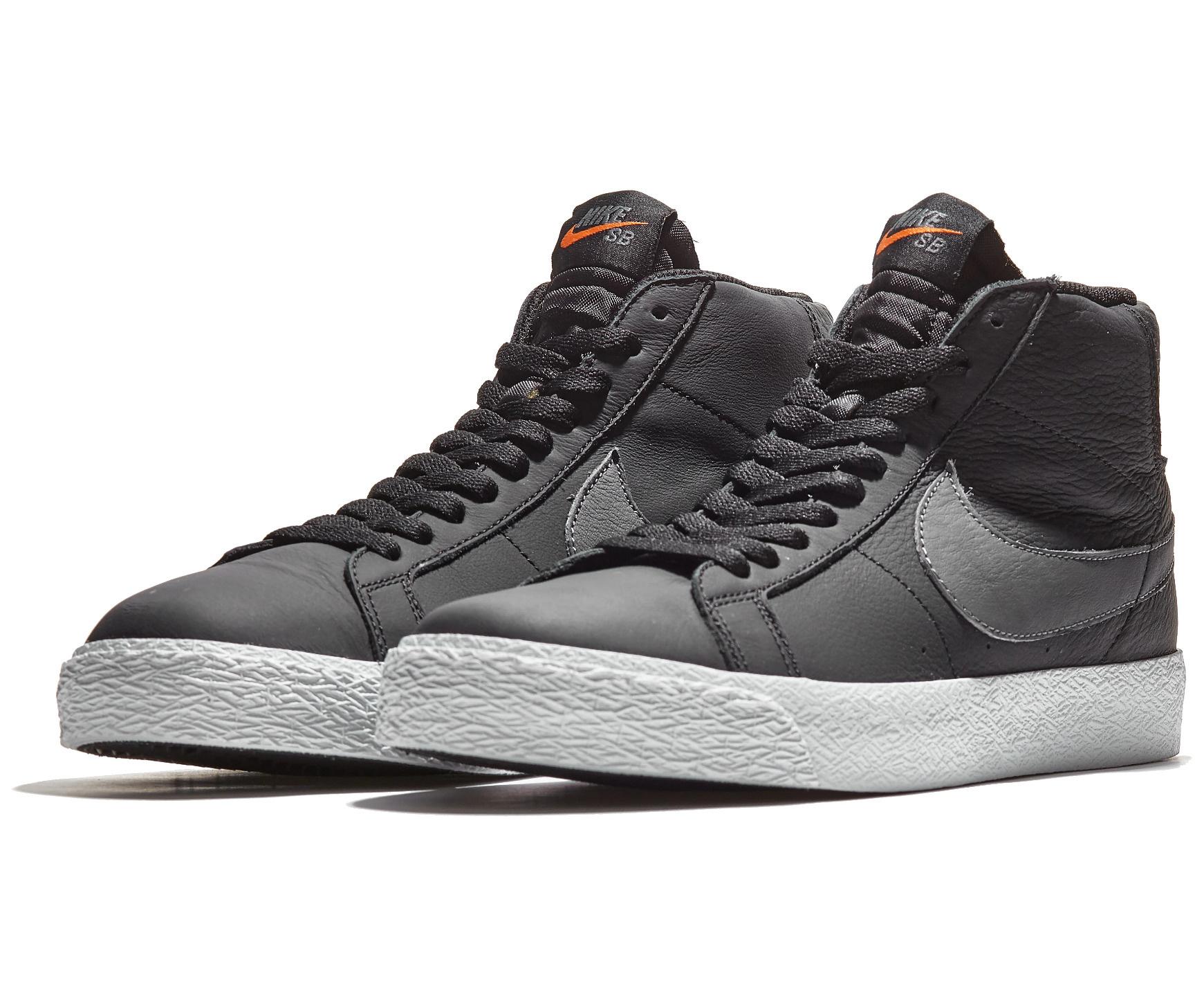 Nike USA, Inc. Nike SB Zoom Blazer Mid ISO Black/White