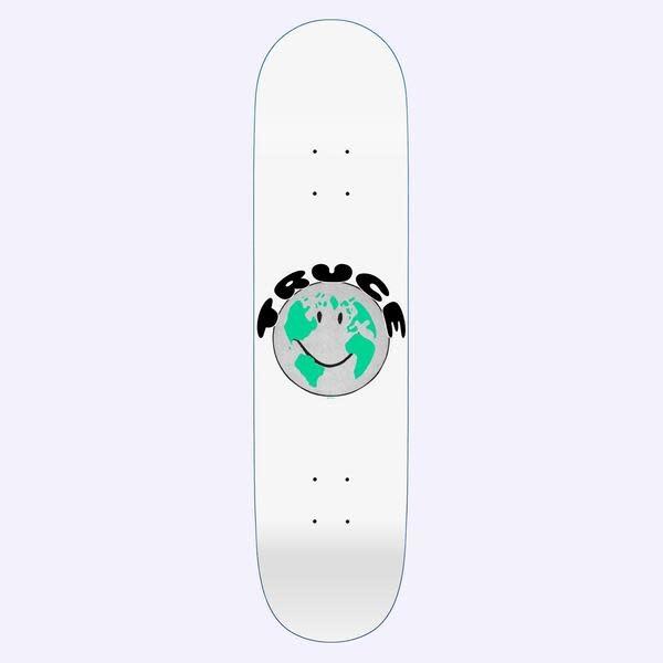 Quasi Skateboards Truce White 8.375