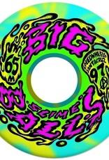 Slimeballs Slime Balls Big Balls Blue/Yellow Swirl 65mm