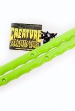 Creature Skateboards Creature Serrated Greean Rails