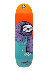 """Welcome Skateboards Sloth on Boline 9.25"""" Teal/Yellow"""