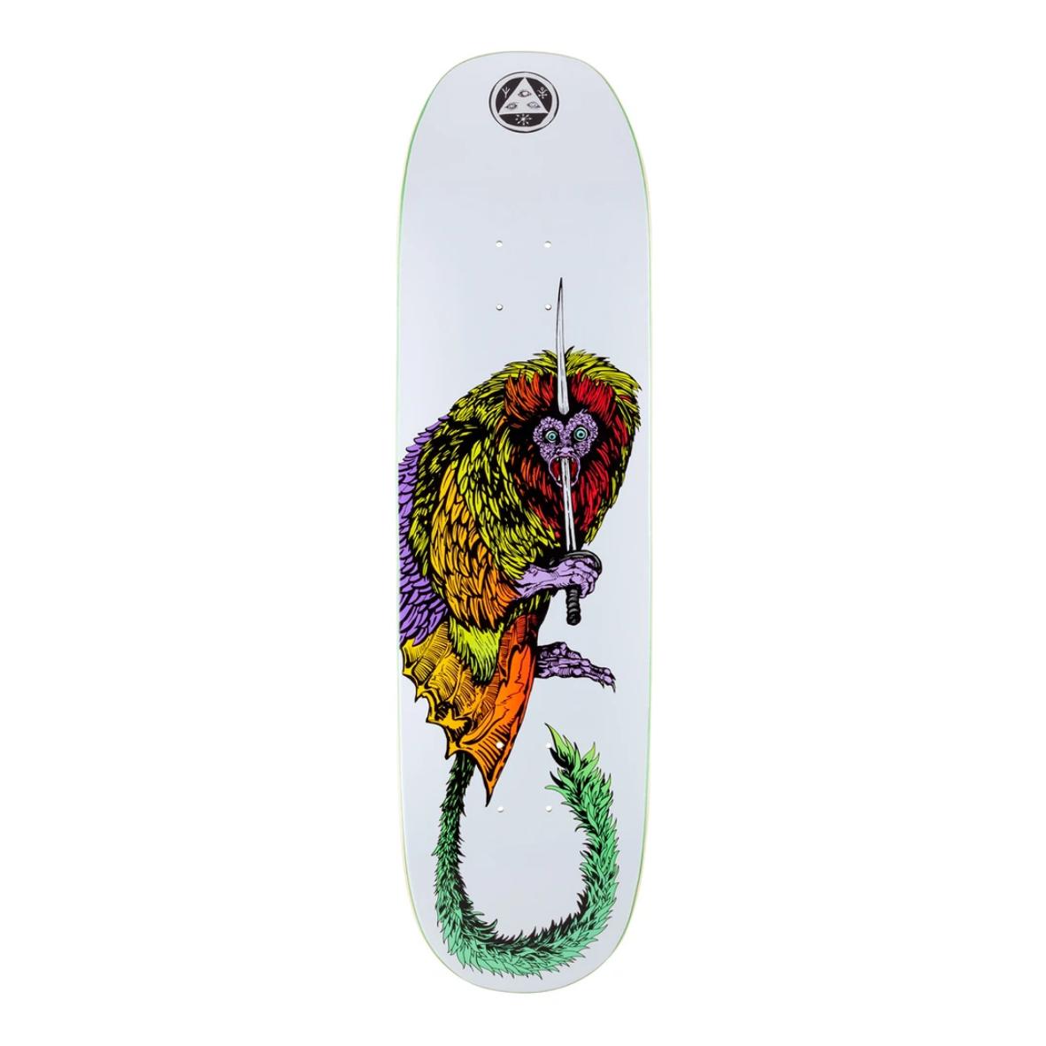 "Welcome Skateboards Tamarin on Moontrimmer 2.0 8.5"" White"