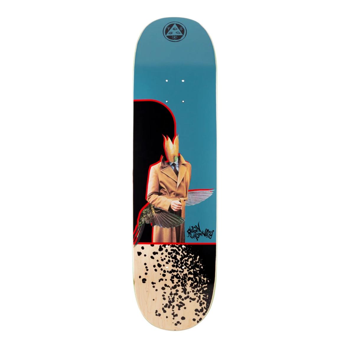"Welcome Skateboards Hummingbird on Enenra 8.5"" Slate"