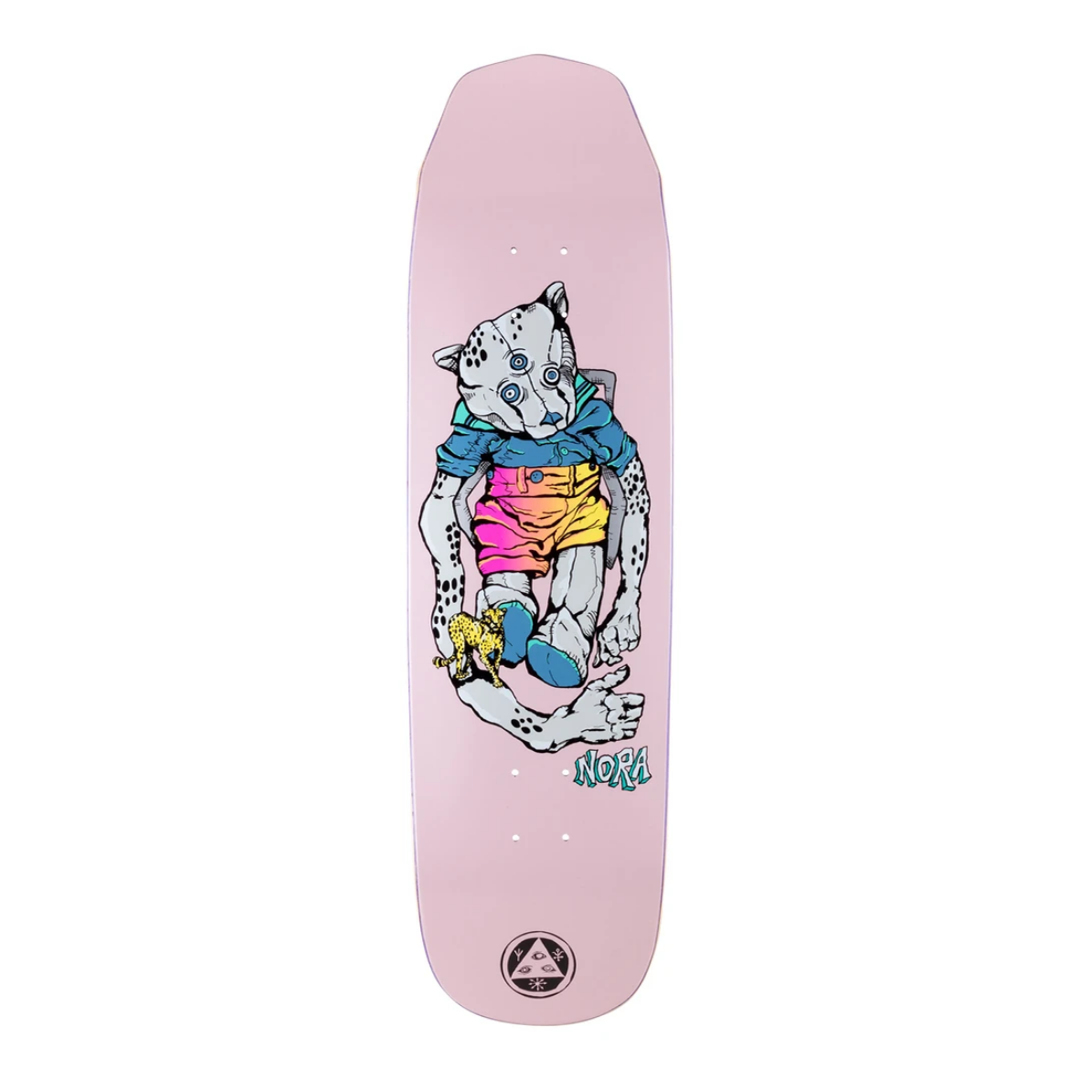 """Welcome Skateboards Teddy on Wicked Queen 8.6"""" Pink"""