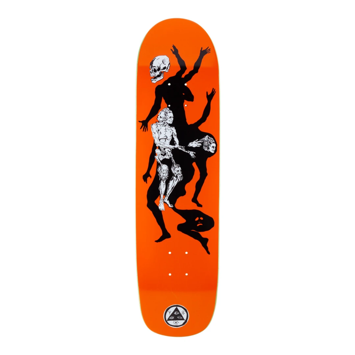 """Welcome Skateboards The Magician on Son of Planchette 8.38"""" Orange"""