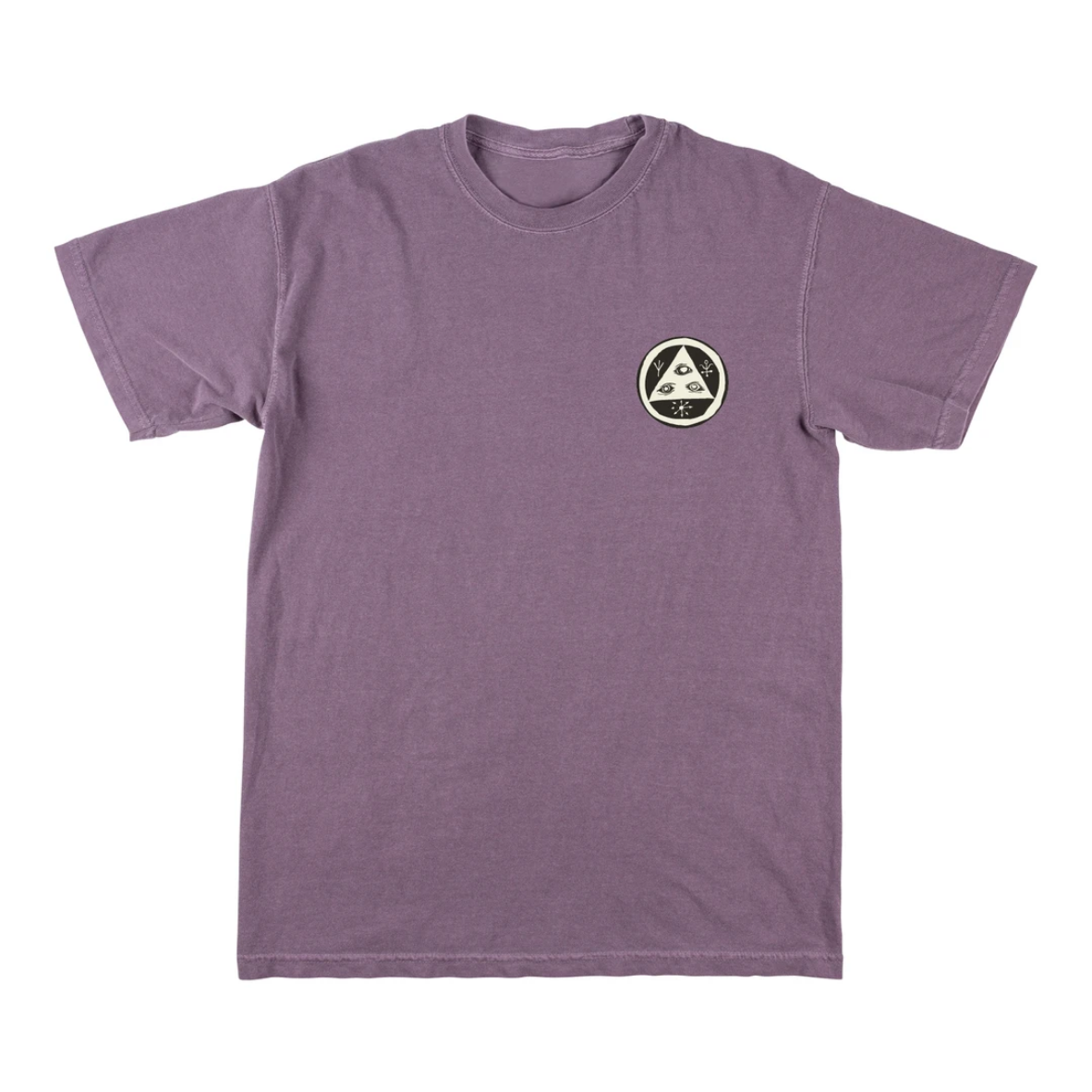 Welcome Skateboards Sloth Garment-Dyed Tee Wine