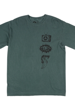 Welcome Skateboards Trey Garment-Dyed Tee Blue Spruce