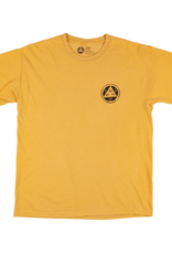 Welcome Skateboards Goodbye Horses Garment-Dyed Tee Gold