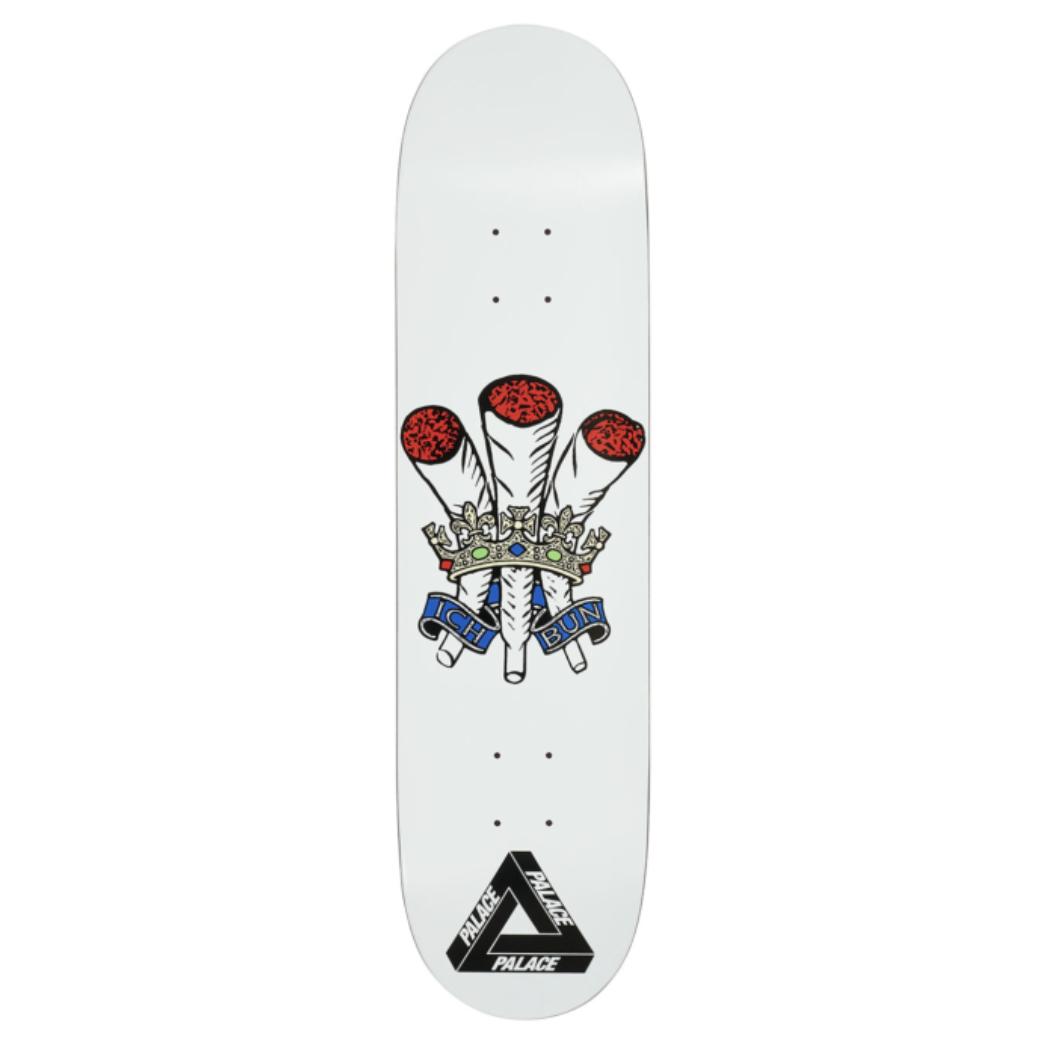 Palace Skateboards Ich Bun White 8.0