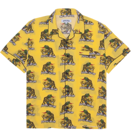 Fucking Awesome Frogman Club Shirt Yellow Medium