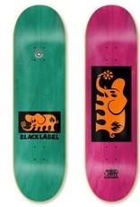 Black Label Elephant Block Orange 7.75 assorted stains