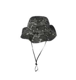 RVCA Oblow Palms Reversible Boonie Black