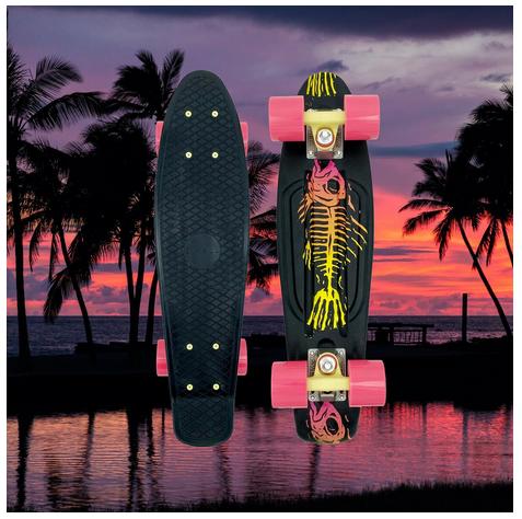 "Swell Skateboards Fishbone 22"" Complete"