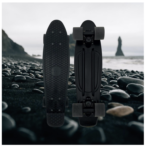 "Swell Skateboards Black Sand 22"" Complete"