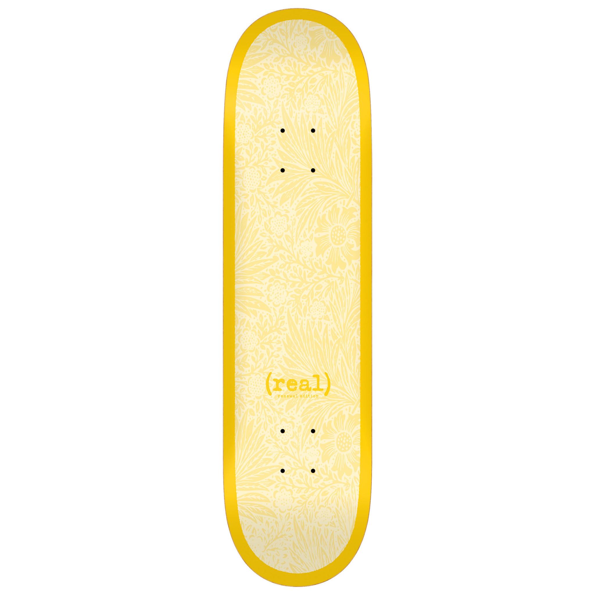 Real Skateboards Flowers Renewal 8.38