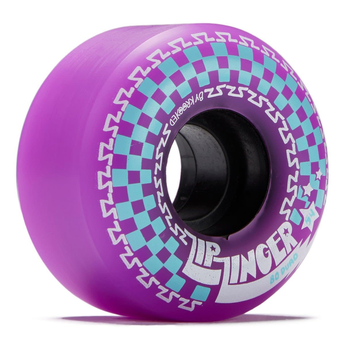 Krooked Zip Zinger 80d Purple
