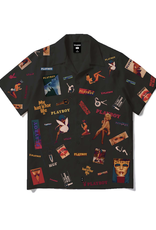 HUF Playboy Collage Woven Black