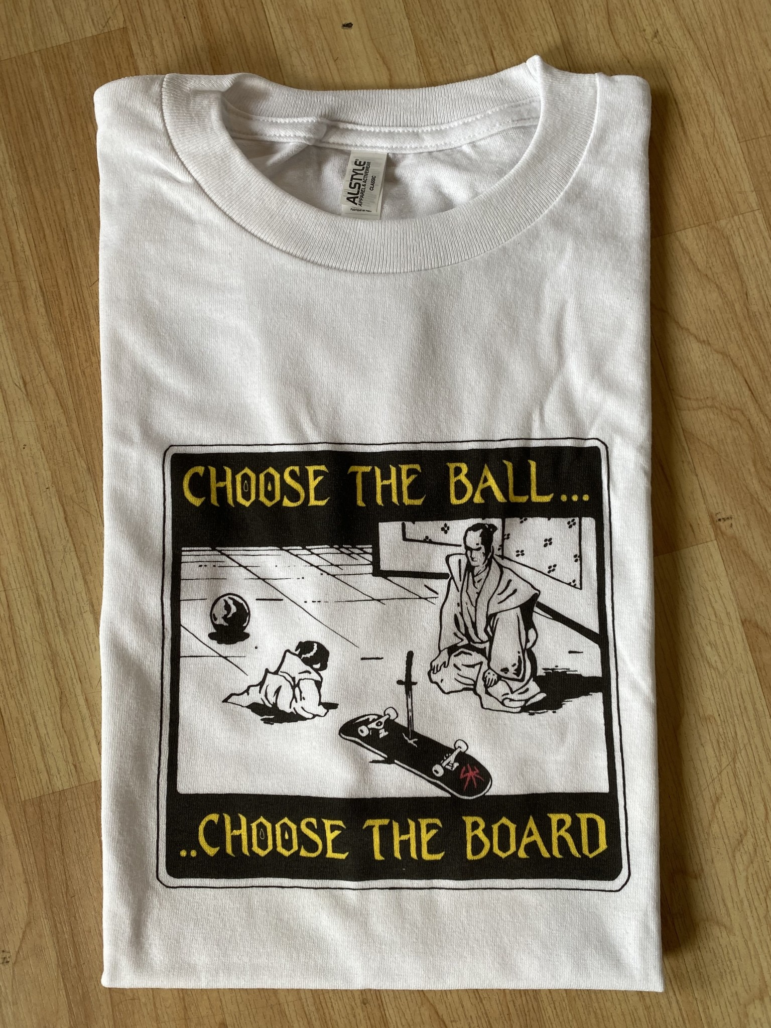 Shitty Kids Choose The Board White Tee