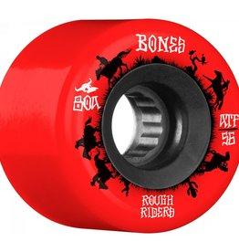 Bones Rough Riders Wrangler 80a 56 Red
