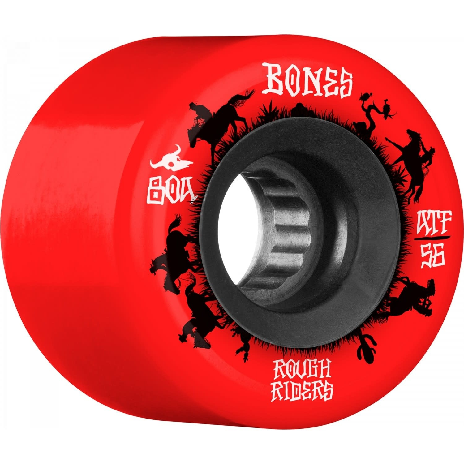 Bones Rough Riders Wrangler 80a 56 Red