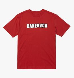 RVCA Baker Ransom Tee Red
