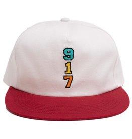 CallMe917 Genny's 917 Hat White/Red