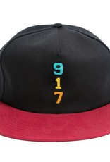 Call Me 917 Genny's 917 Hat Black/Red
