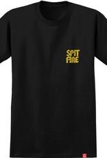 Spitfire Wheels Clean Cut Black/Yellow