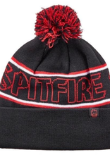 Spitfire Wheels Hombre Pom Black Red White Beanie