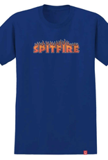 Spitfire Wheels Youth Flash Fire Royal Tee