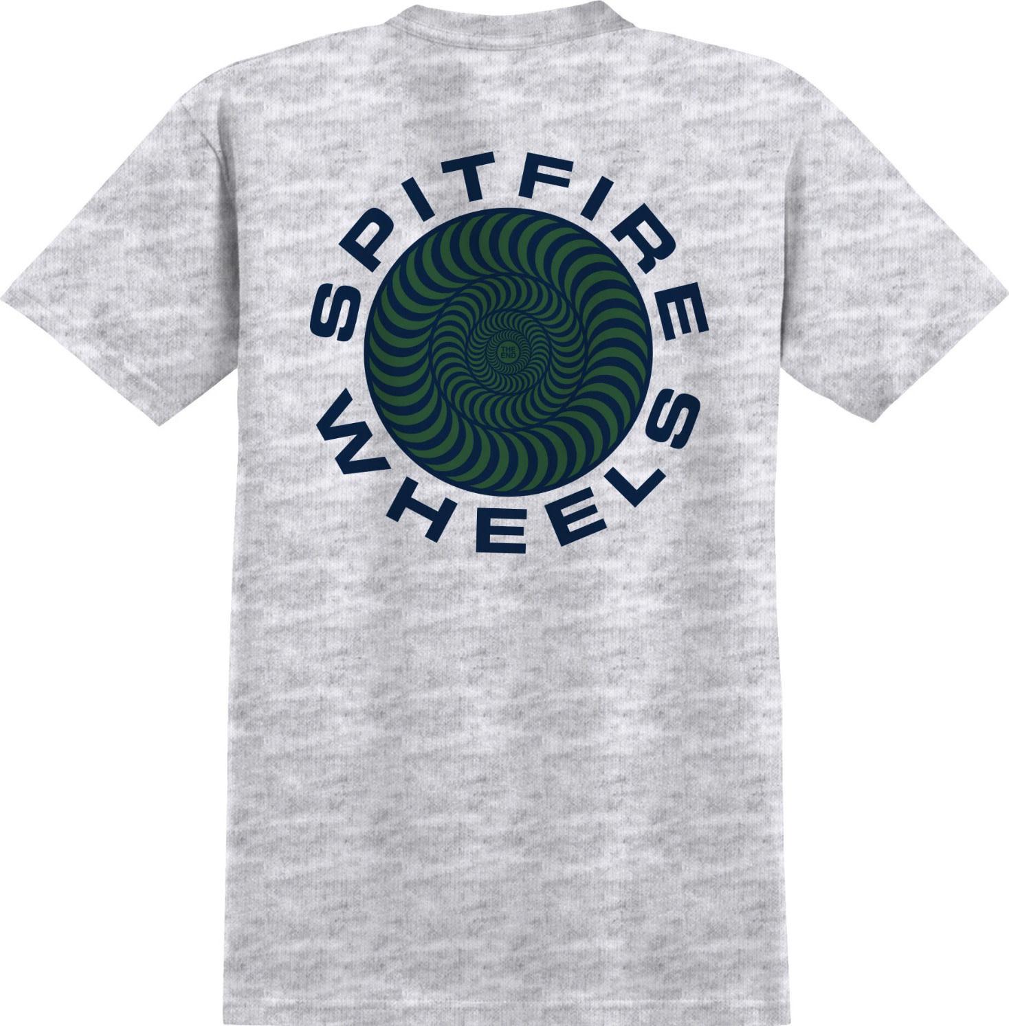 Spitfire Wheels Classic 87 Swirl Ash/Navy Tee