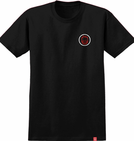 Spitfire Wheels Classic Swirl Fade Black/Red Tee