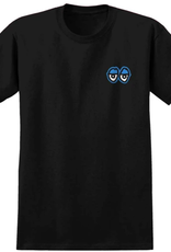 Krooked Straight Eyes Black/Blue Tee