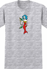 Krooked Mermaid Ash Heather L/S Tee