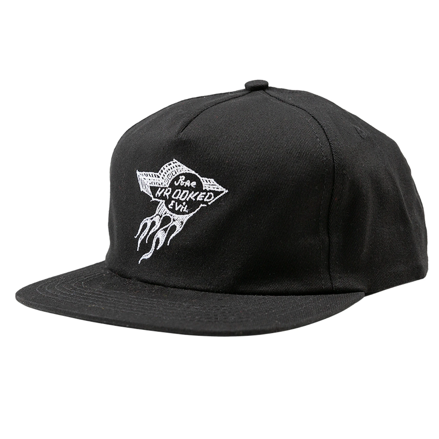 Krooked Pure Evil Black Snapback