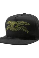 Anti Hero Basic Eagle Emb Snapback Black/Olive