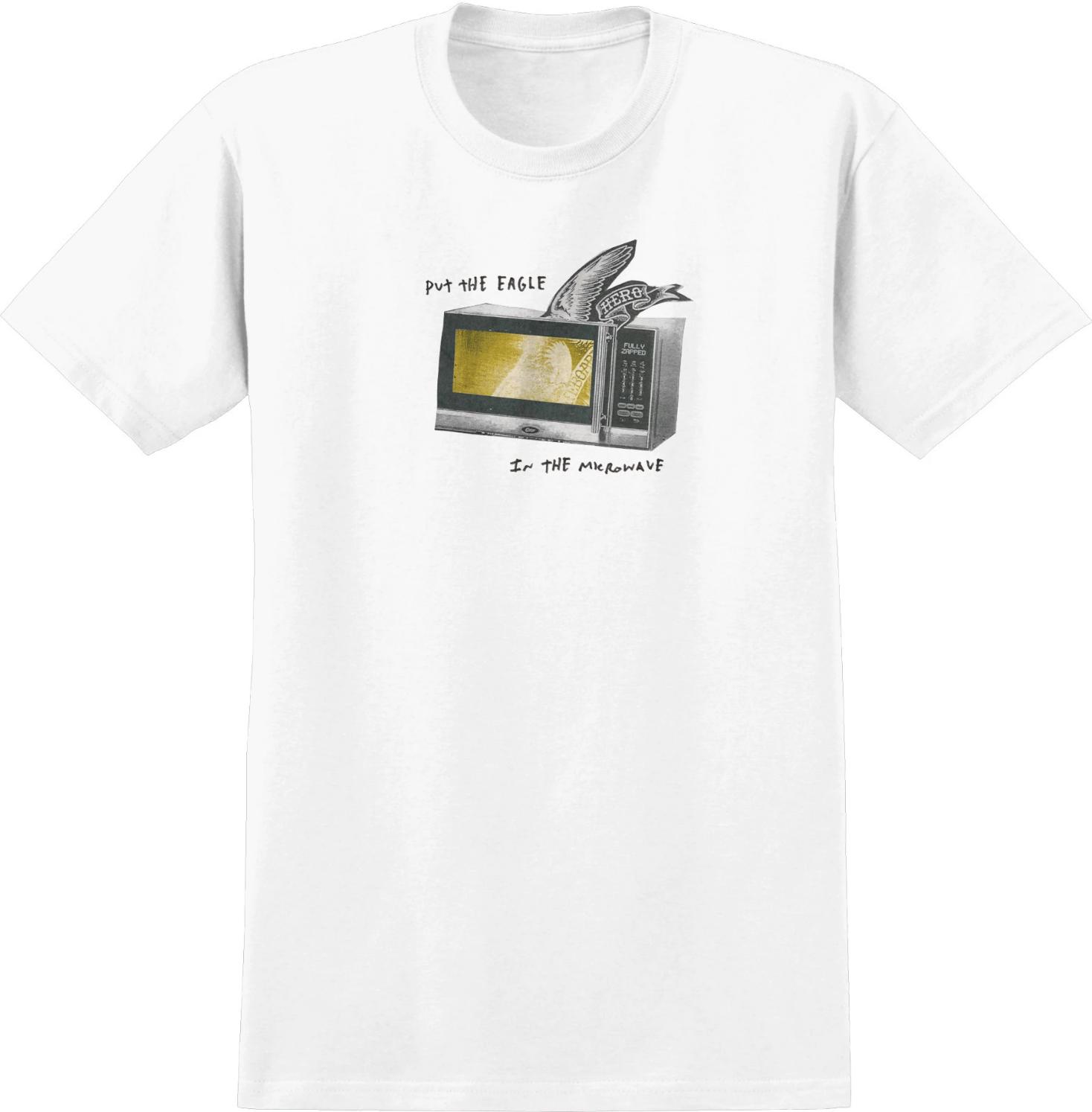 Anti Hero Microwave Eagle White Tee