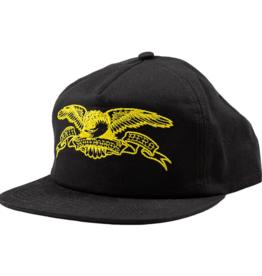 Anti Hero Basic Eagle Emb. Snapback Black/Yellow