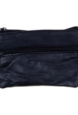 SOUR SOLUTION Barcy Leather Wallet Black